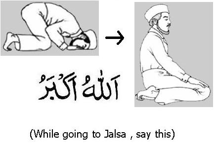 Step 14 (Takbeer)