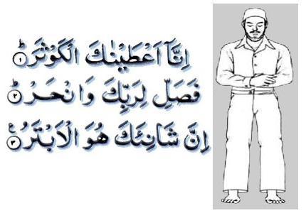 Read short surah for namaz