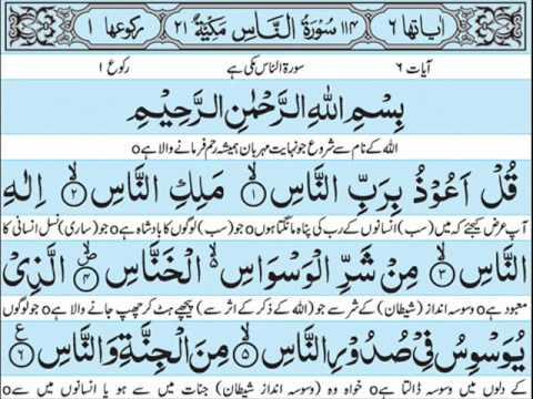 Surah Falaq Urdu Tarjuma