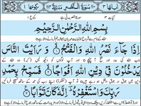 Surah Nasr translation